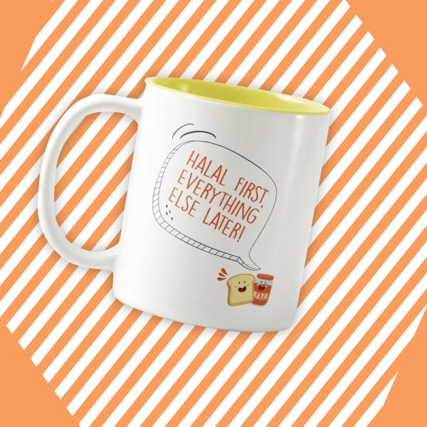 Statement Mug - Yellow