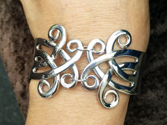 Double Celtic Fork Bracelet