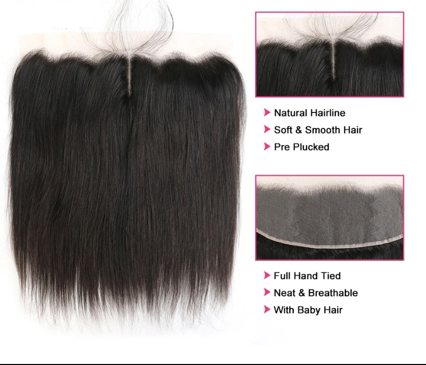 VVS Straight Lace Frontal - a-girls-best-friend-hair-co