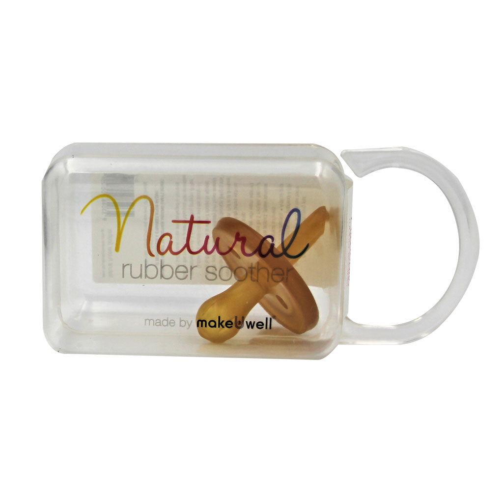 Natural Rubber Soother Round - Single Pack