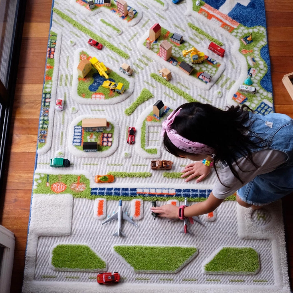 IVI Interactive Play Rug Mini City Medium - UrbanBaby shop