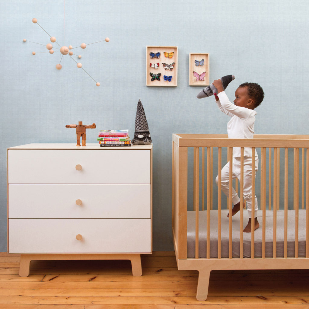 Oeuf Merlin 6 Drawer Dresser for Sparrow - Walnut - UrbanBaby shop