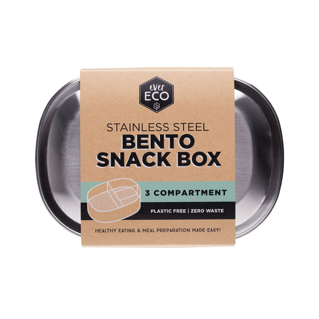 Ever Eco Bento Snack Box - 3 Compartments