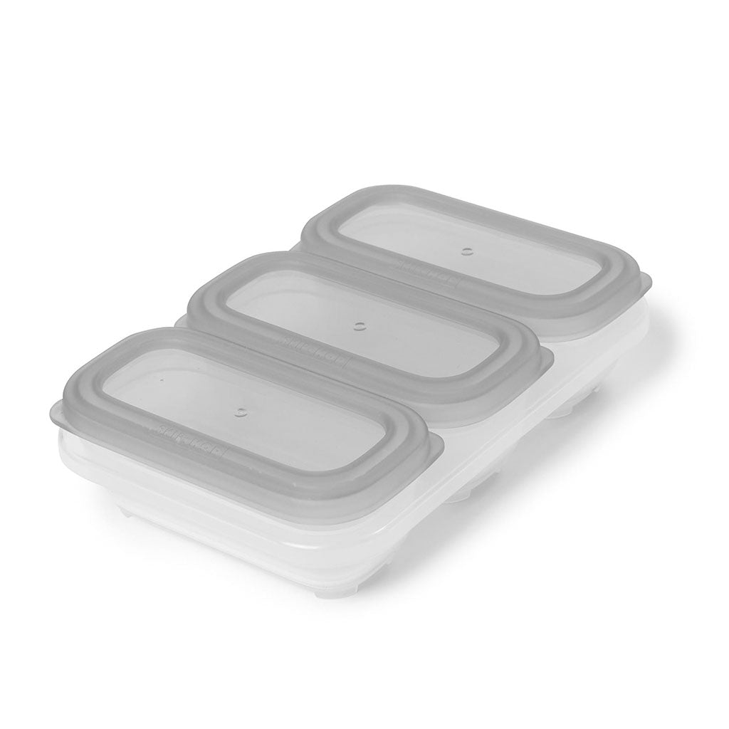 Skip Hop Easy Store 4oz Containers - Grey