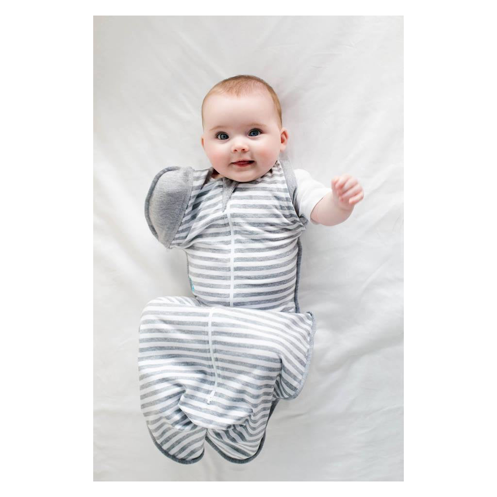 Love to Dream Swaddle Up Transition Bag Grey Stripes