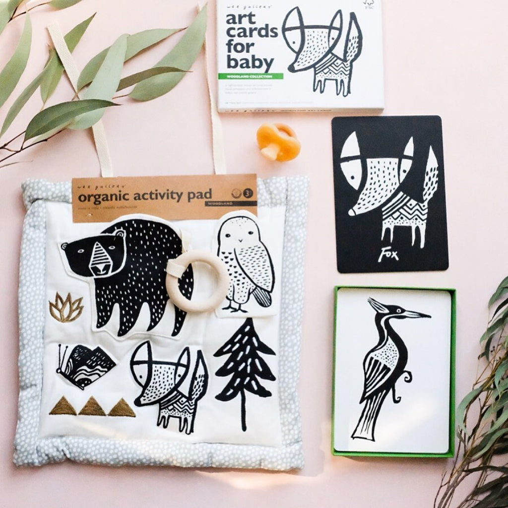 Wee Gallery Organic Cotton Activity Pad - Woodland - UrbanBaby shop