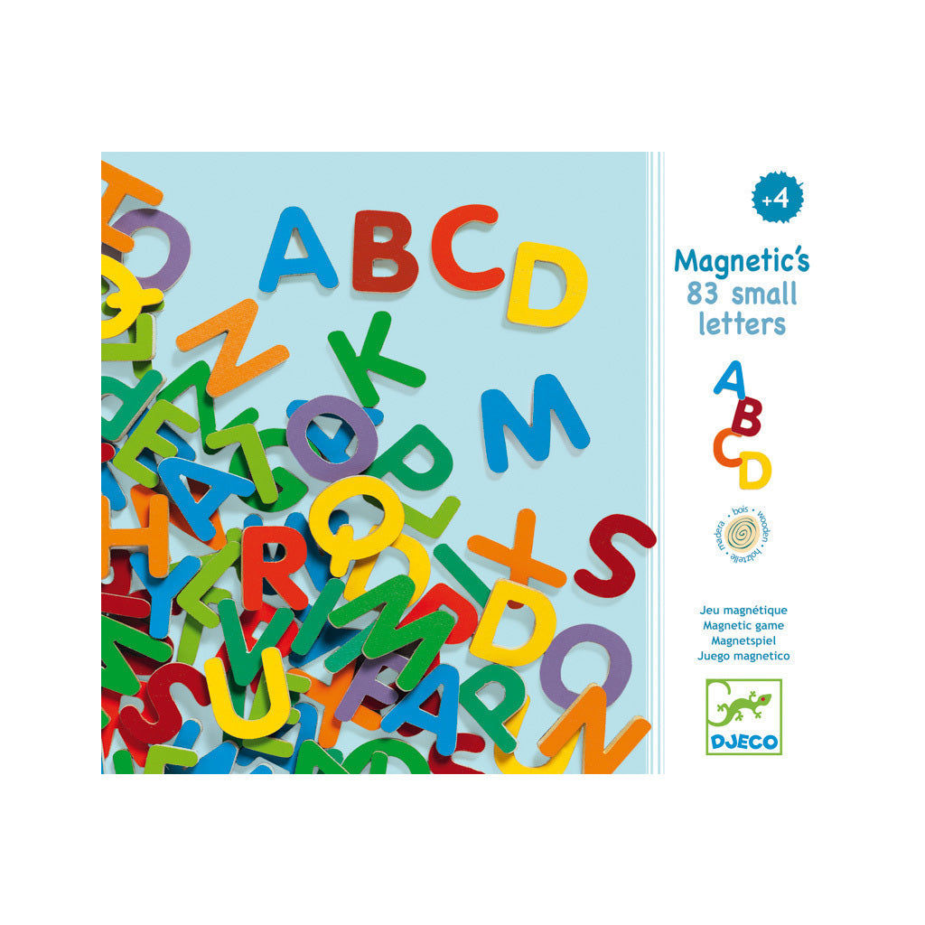 Djeco Magnetics 83 Upper Case Letters - UrbanBaby shop