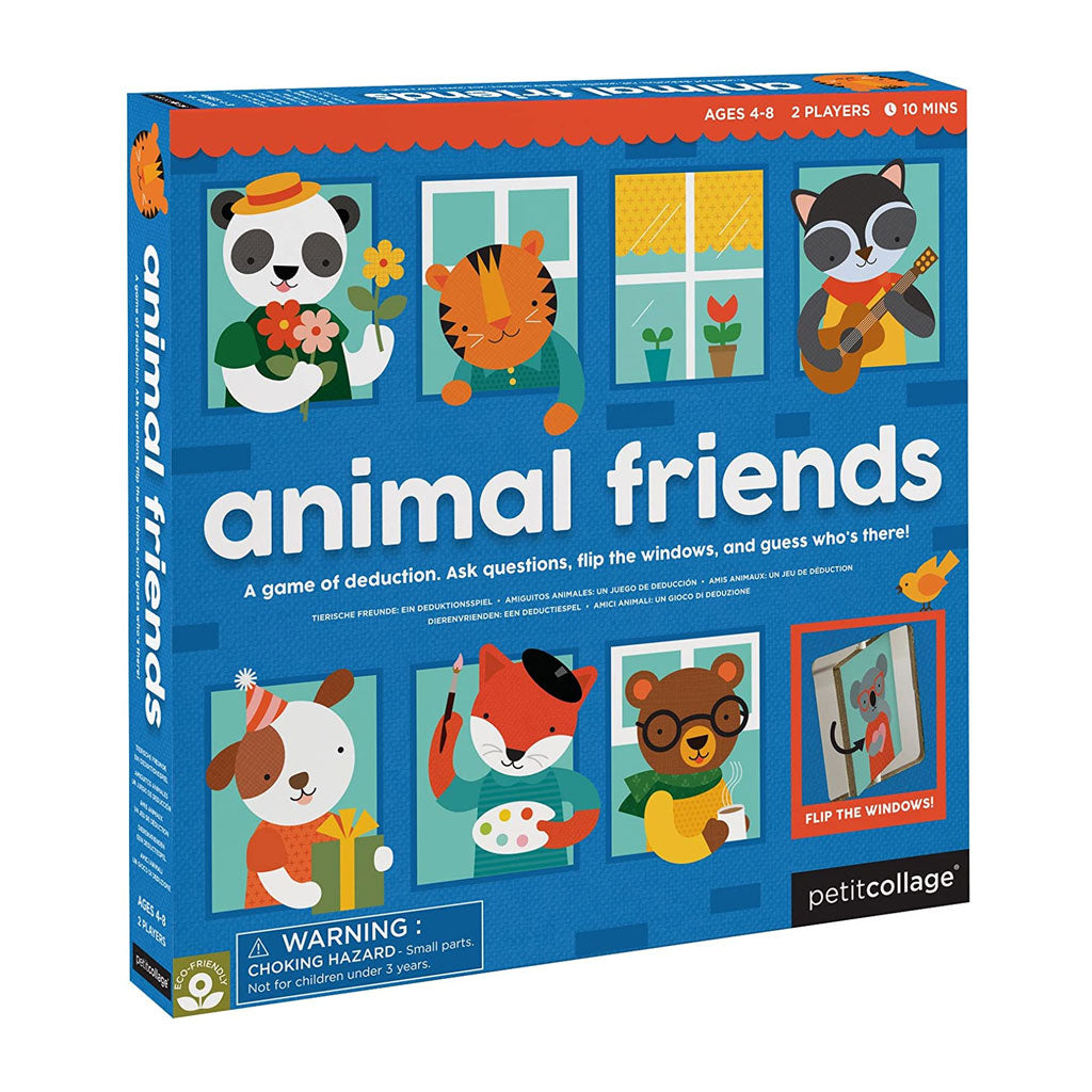 Petit Collage Board Game - Animal Friends