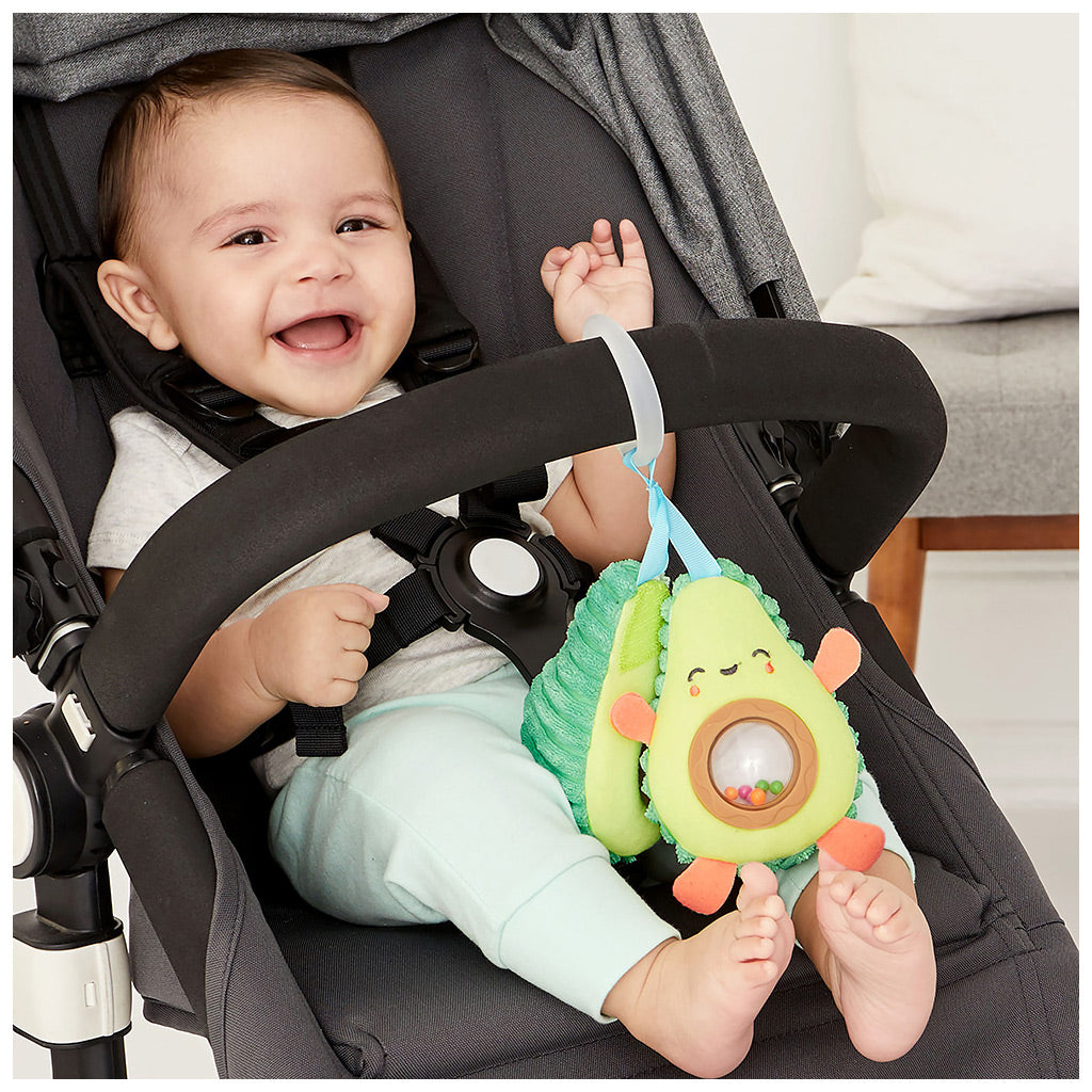 Skip Hop Farm Stand - Avocado Stroller Toy