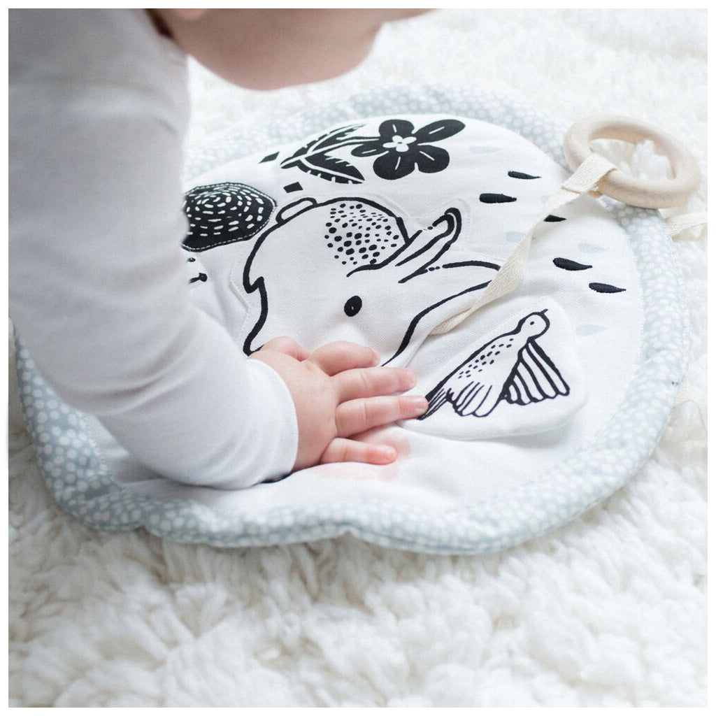 Wee Gallery Organic Cotton Activity Pad Meadow