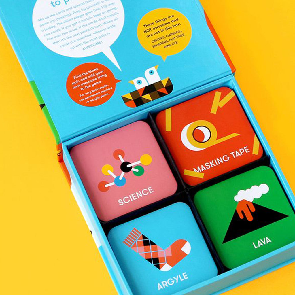 Wee Society A Box of Awesome Things Matching Game - UrbanBaby shop