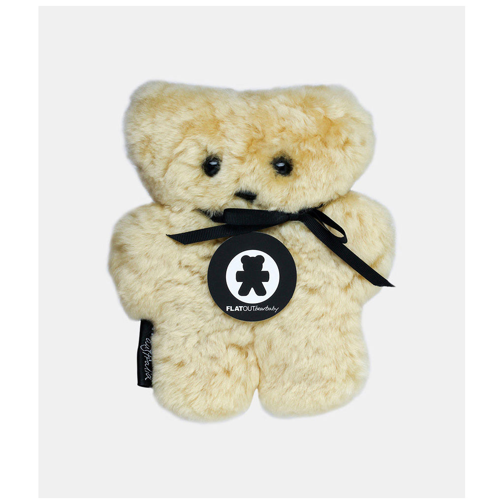FLATOUT Sheepskin Bear - Baby Honey - UrbanBaby shop
