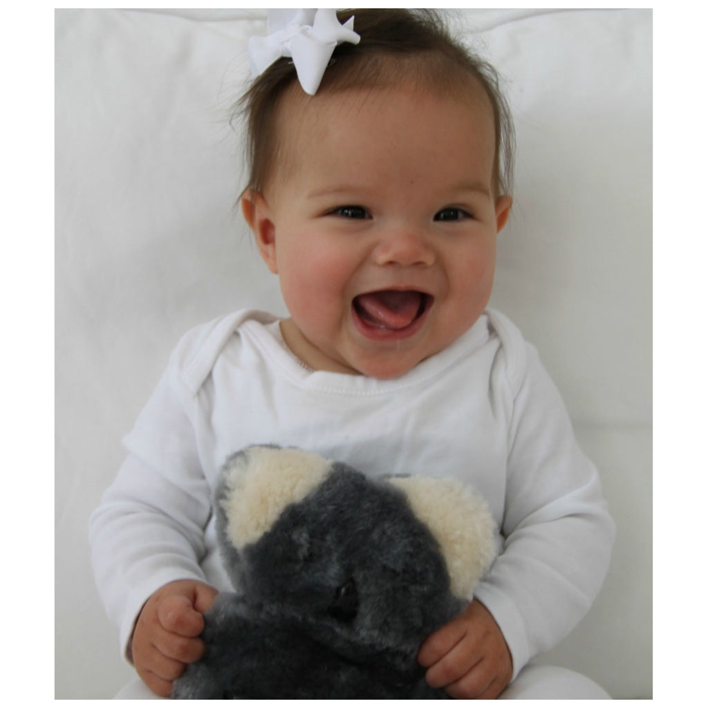 FLATOUT Sheepskin Bear - Baby Koala - UrbanBaby shop