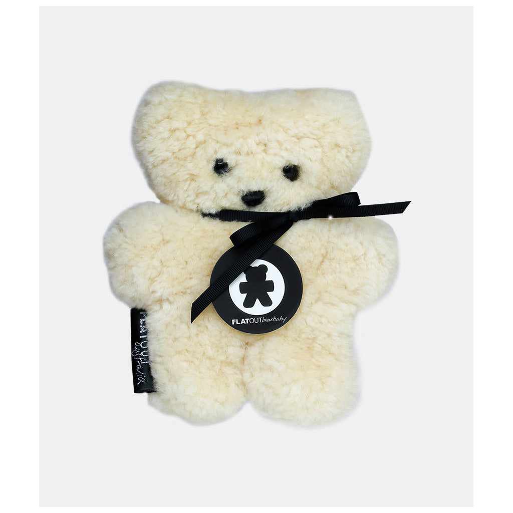 FLATOUT Sheepskin Bear Baby Milk - UrbanBaby shop