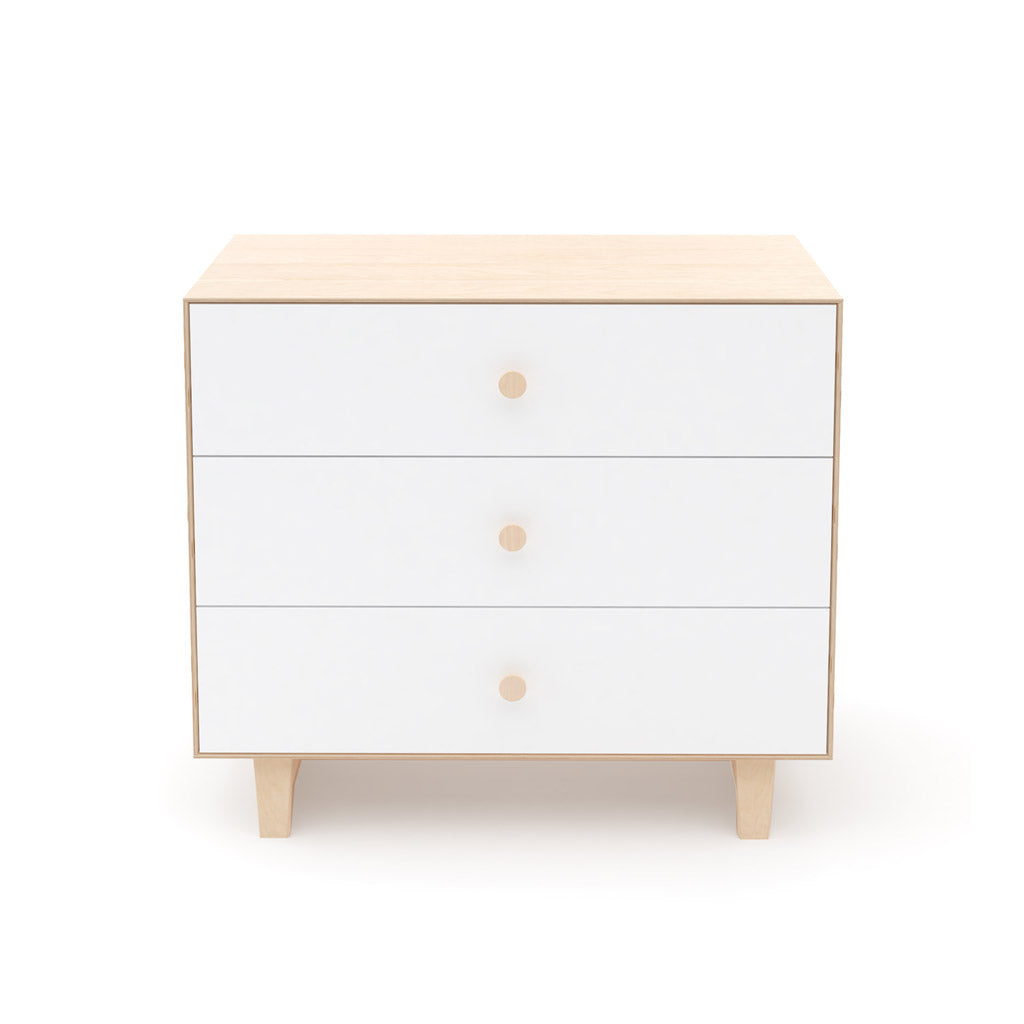 Oeuf Merlin 3 Drawer Dresser for Rhea - Birch - UrbanBaby shop