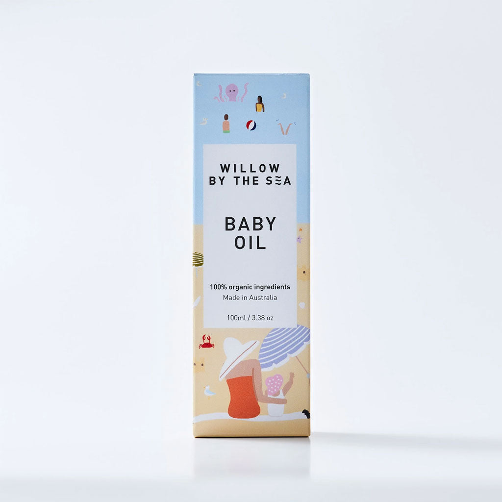Willow By The Sea Organic Baby Oil - UrbanBaby shop