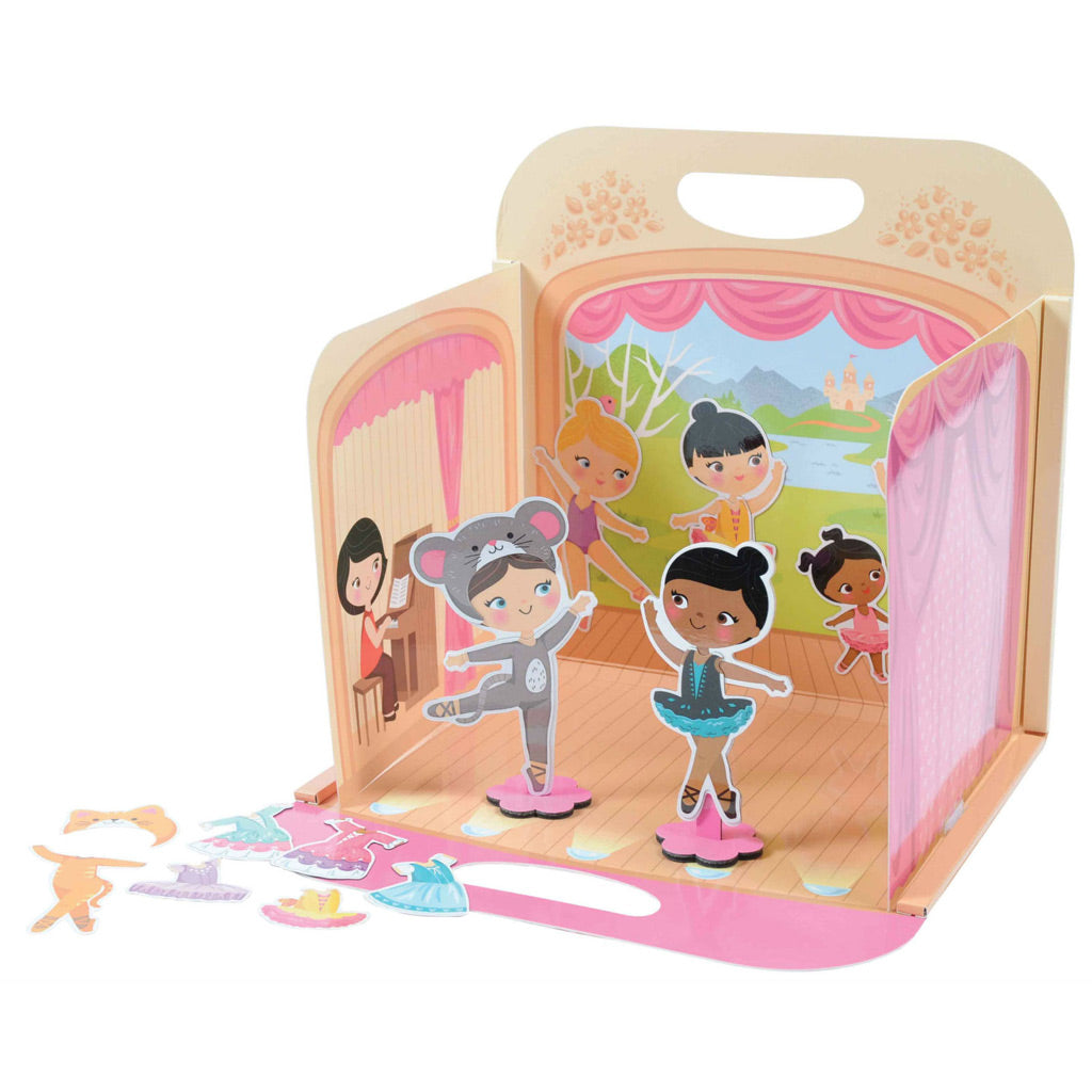 Tiger Tribe Magna Carry Playbook - Pop-up Ballet Concert - UrbanBaby shop