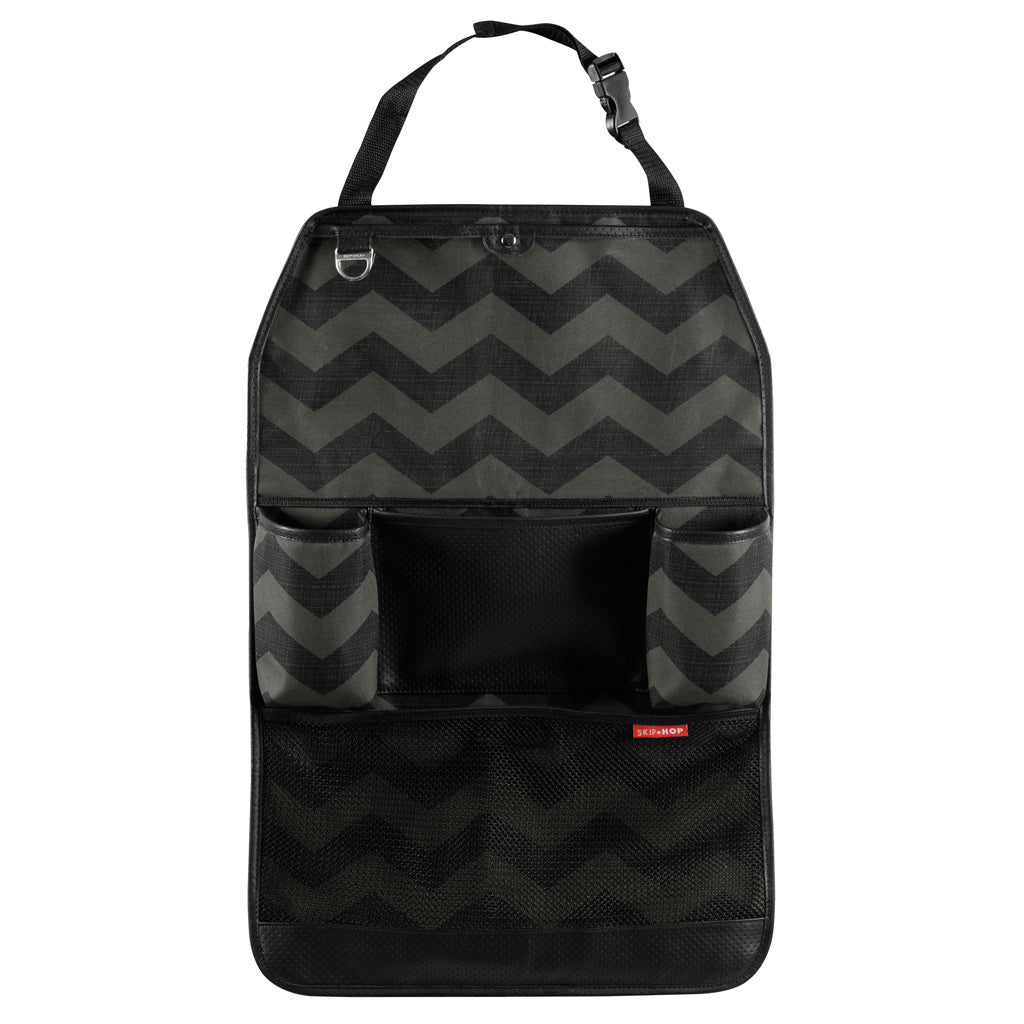 Skip Hop Backseat Organiser - Tonal Chevron - UrbanBaby shop