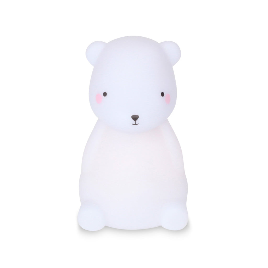 Delight Decor Little Light Up Polar Bear
