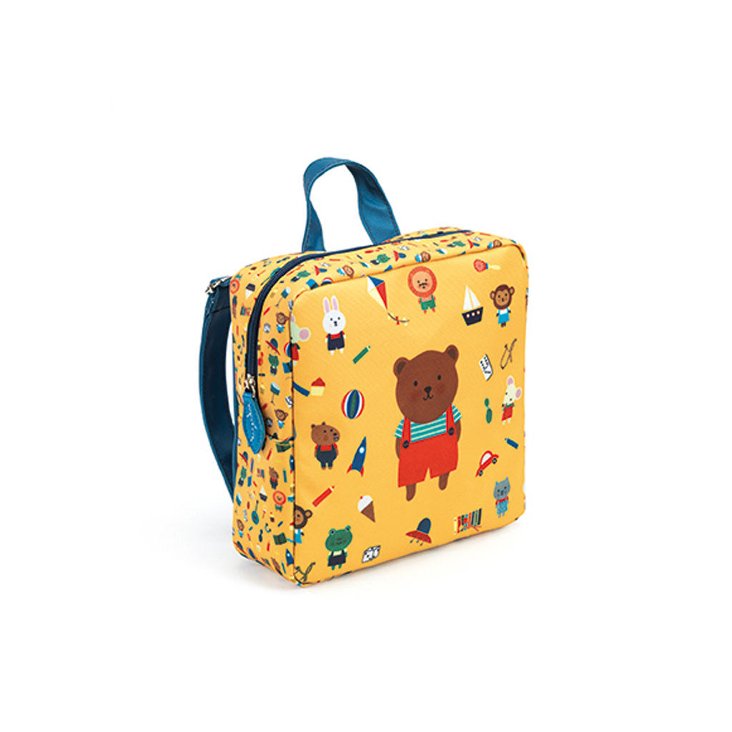 Djeco Preschool Bag - Bear - UrbanBaby shop