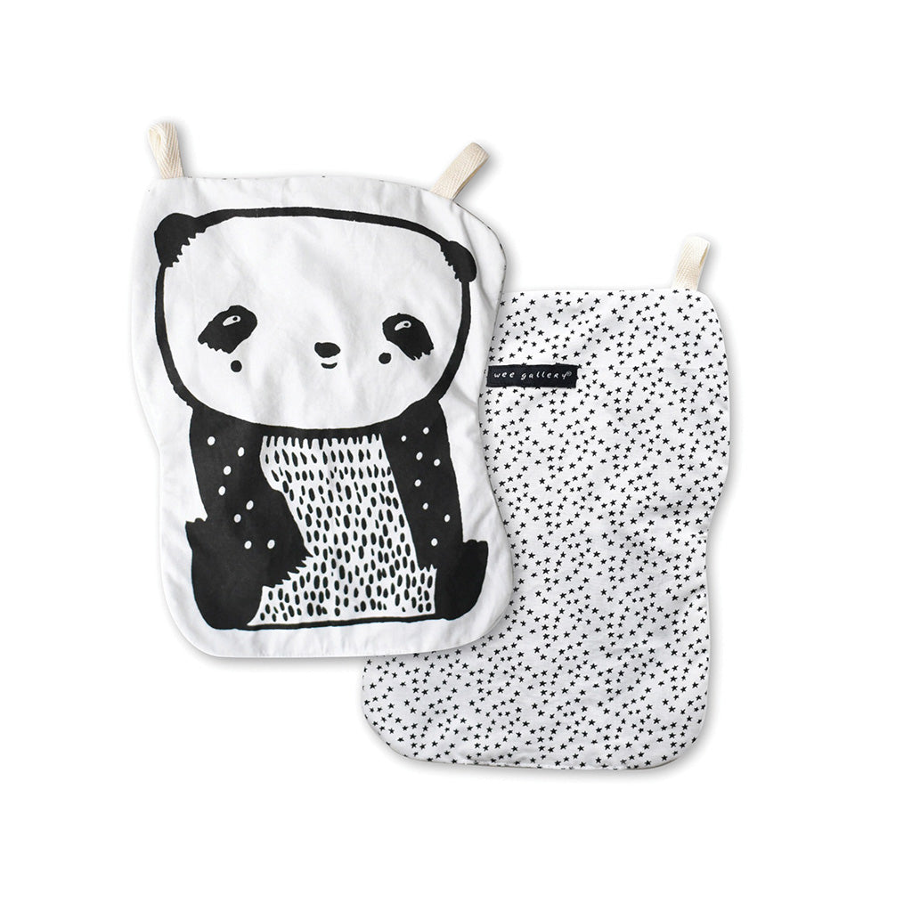 Wee Gallery Organic Crinkle Toy Panda - UrbanBaby shop