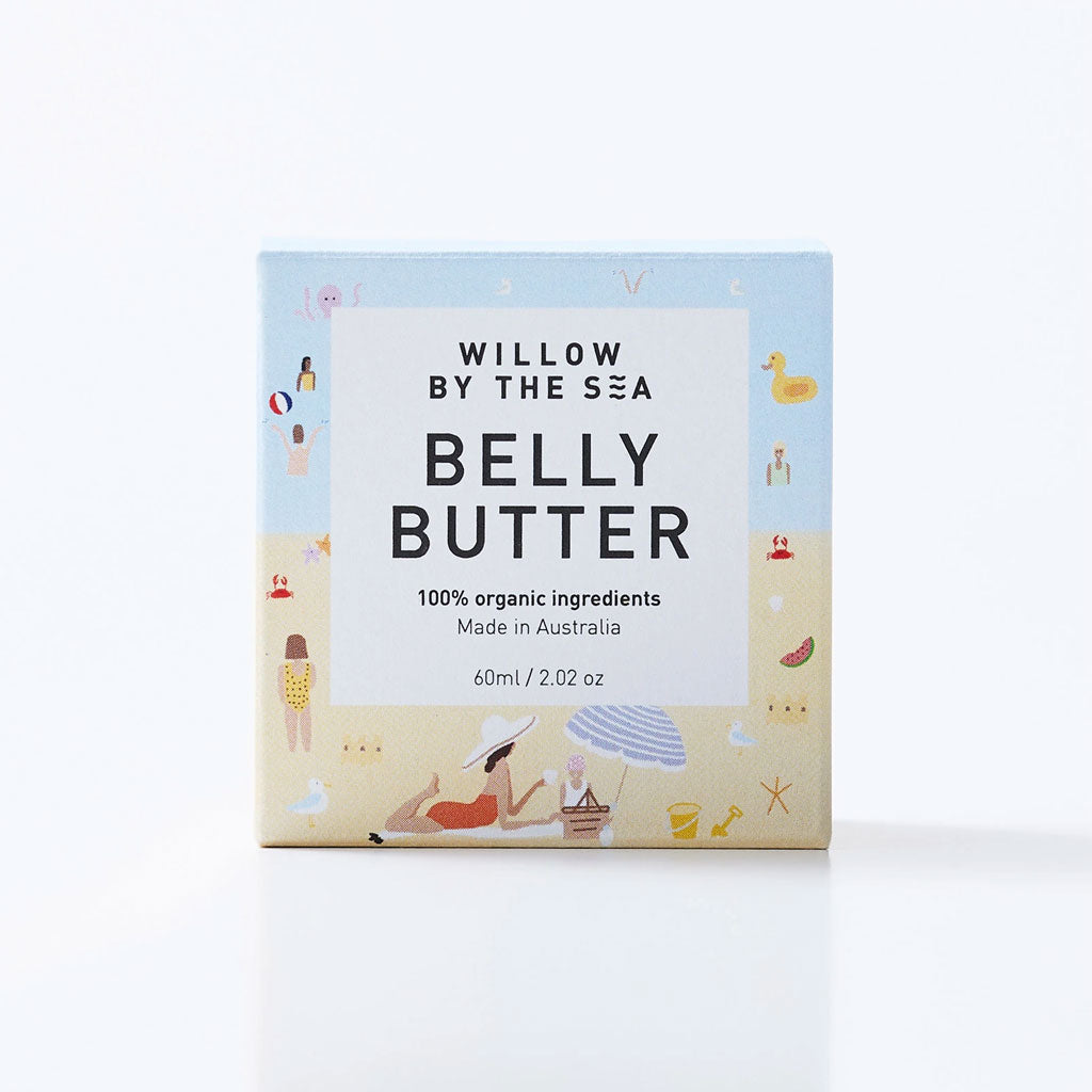 Willow By The Sea Organic Belly Butter - UrbanBaby shop