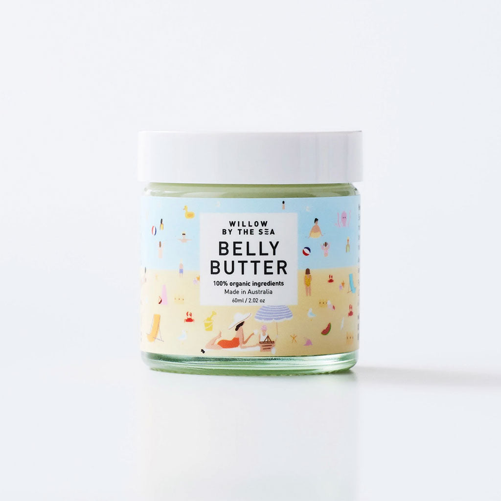 Willow By The Sea Organic Belly Butter - 120ml - UrbanBaby shop