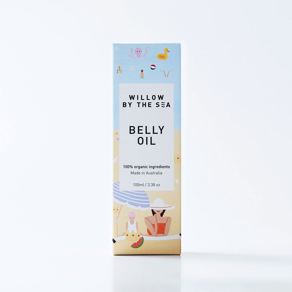 Willow By The Sea Organic Belly Oil - UrbanBaby shop