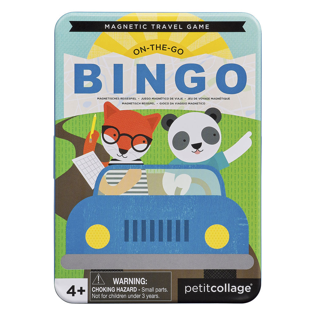 Petit Collage Magnetic Travel Game - Bingo - UrbanBaby shop