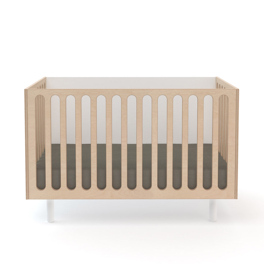 Oeuf Fawn Bassinet and Cot - Birch
