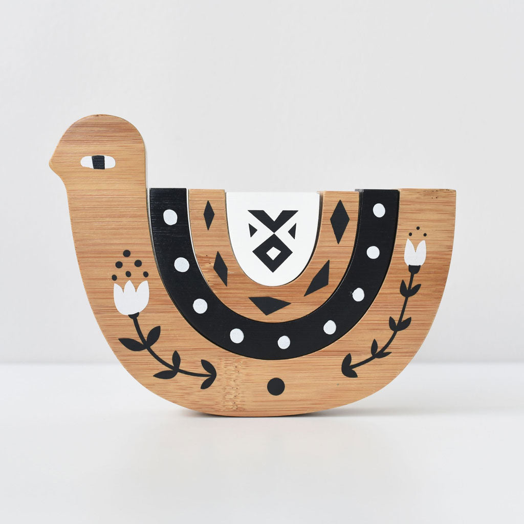 Wee Gallery Bamboo Nesting Bird - UrbanBaby shop