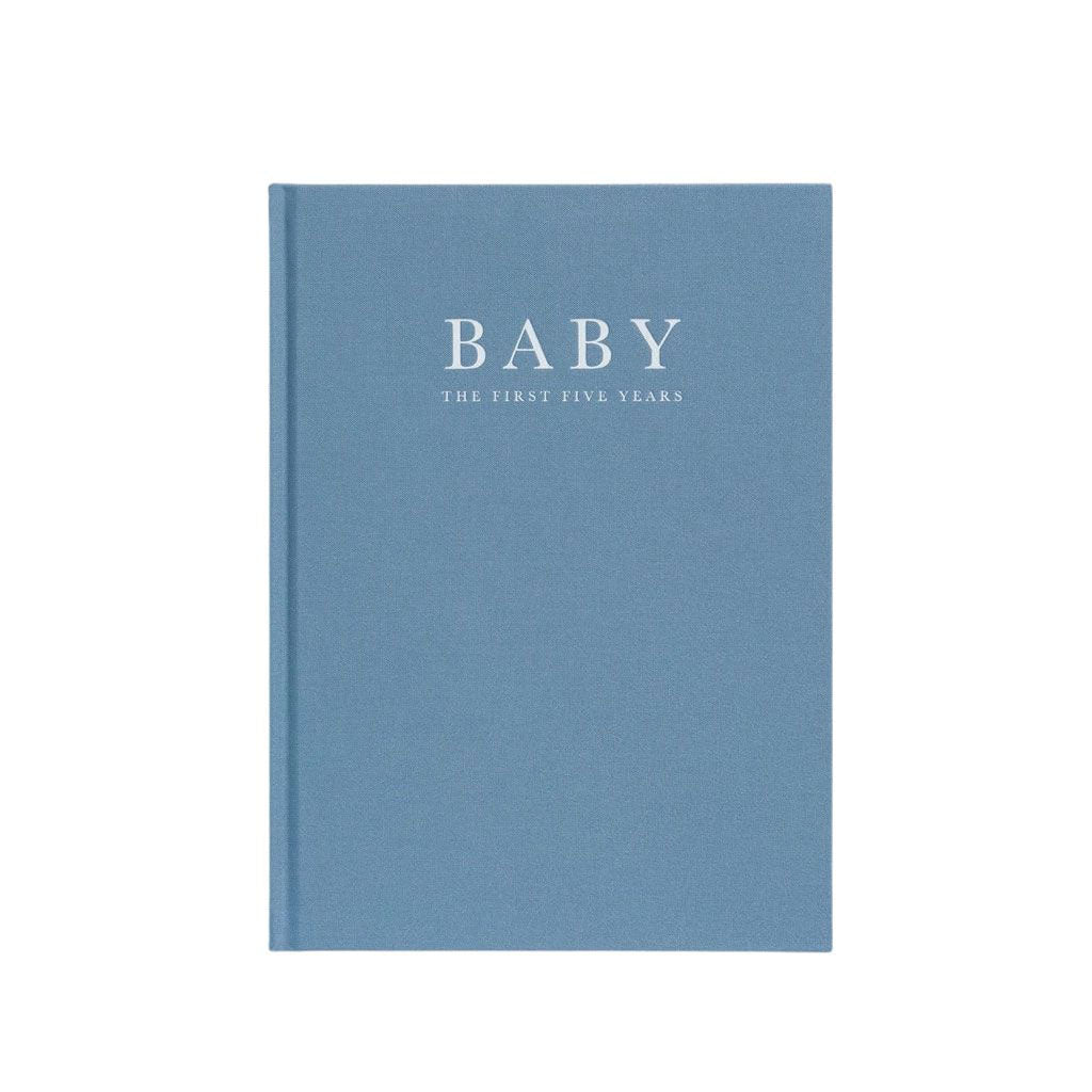 Write to Me Baby Journal - Blue