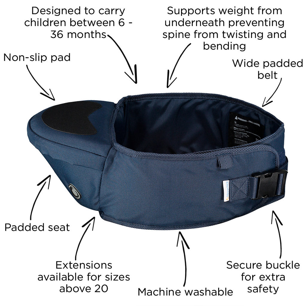 Hipseat by HippyChick - Navy