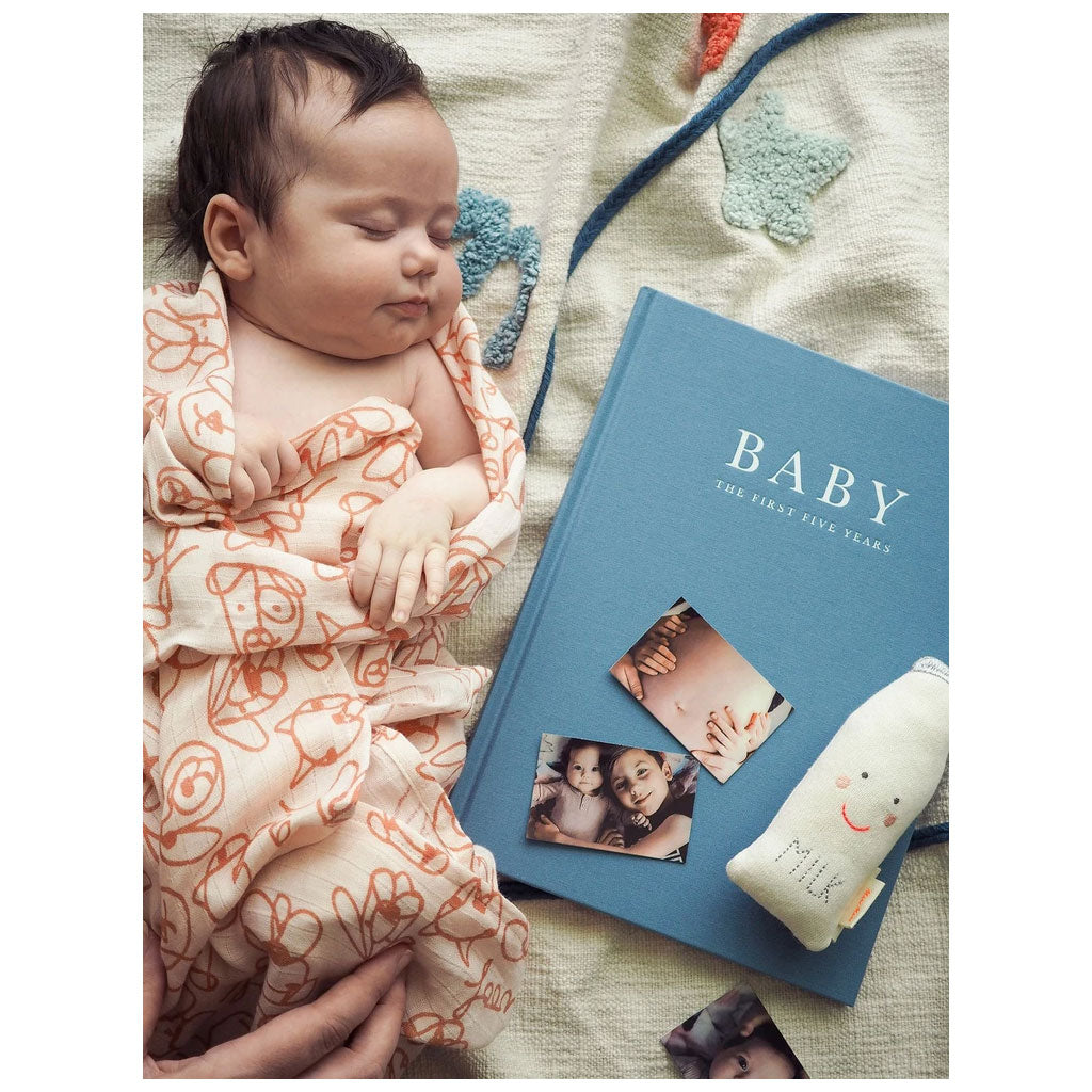 Write to Me Baby Journal - Blue - UrbanBaby shop