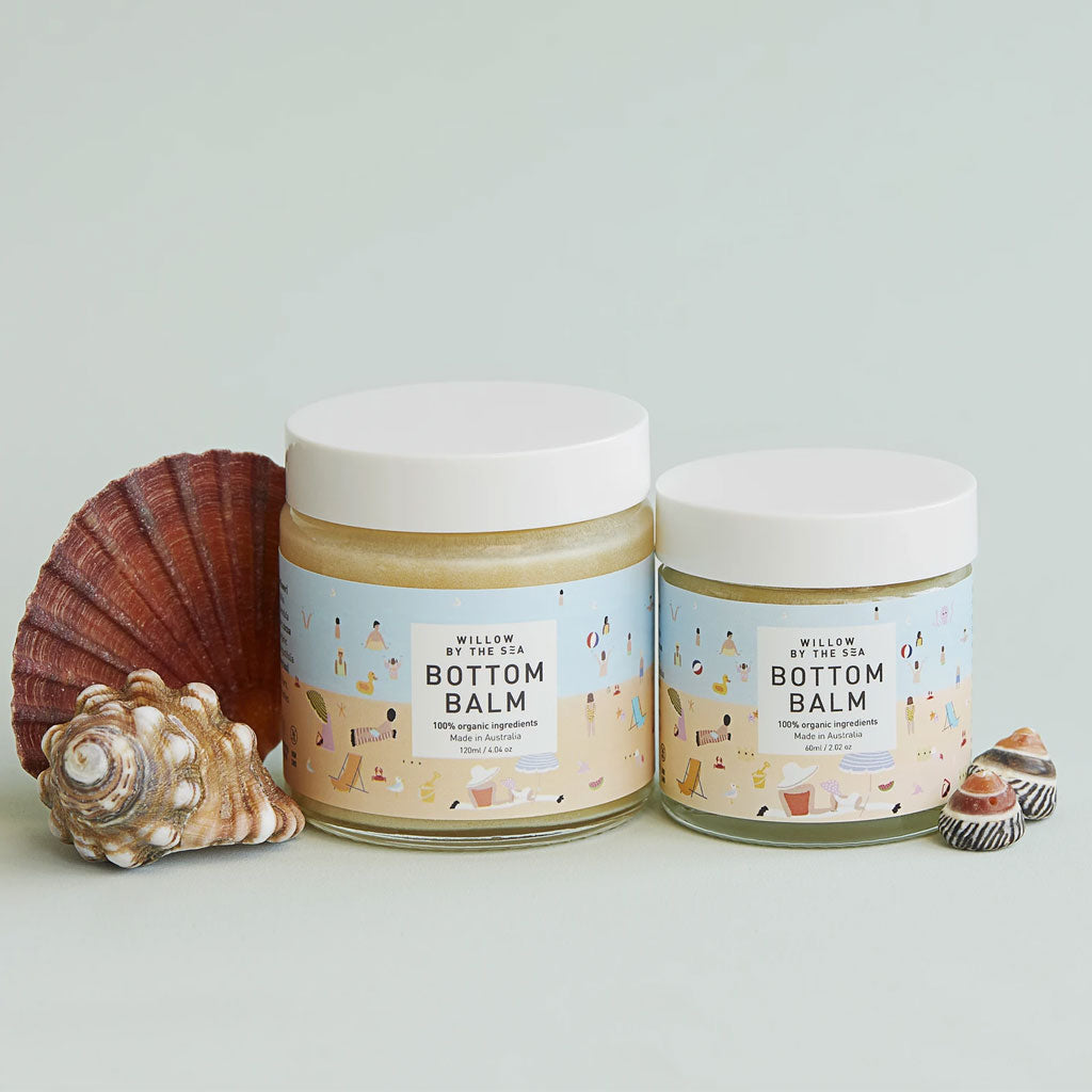 Willow By The Sea Organic Bottom Balm - 120ml - UrbanBaby shop