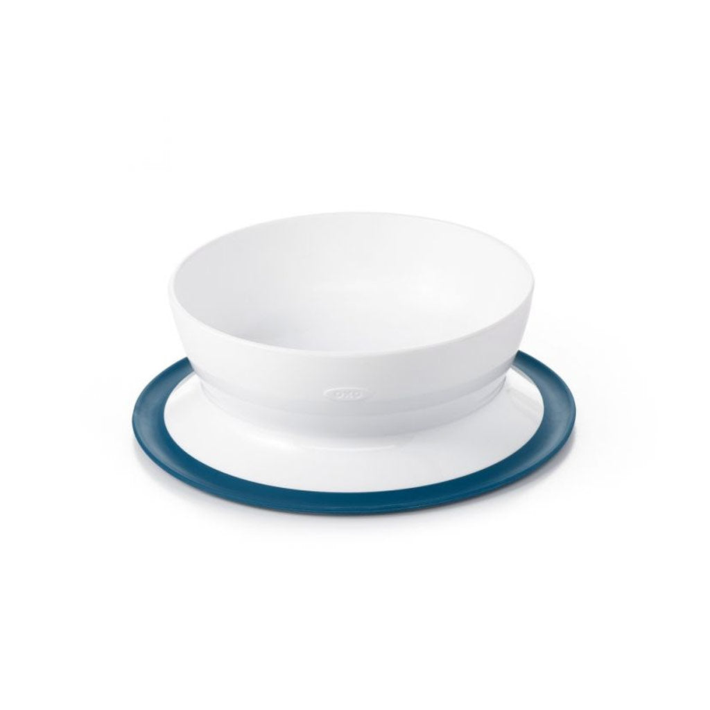 OXO TOT Suction Bowl Navy - UrbanBaby shop