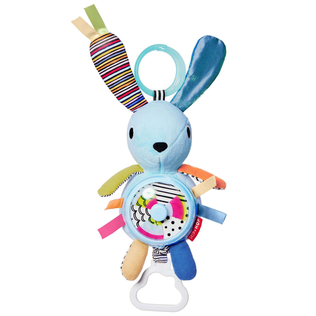 Skip Hop Vibrant Village Spinner Activity Bunny