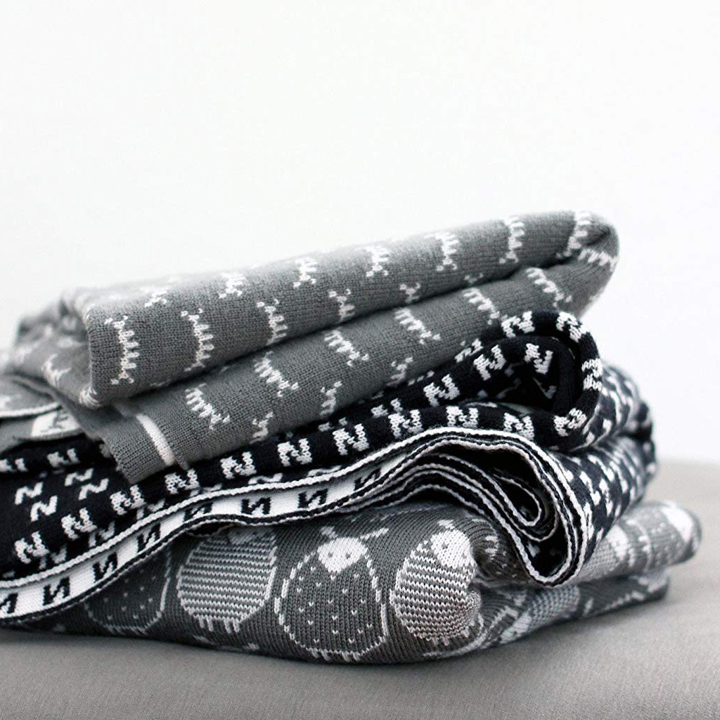 Wee Gallery Merino Wool Baby Blanket Catch Some Zzz - UrbanBaby shop