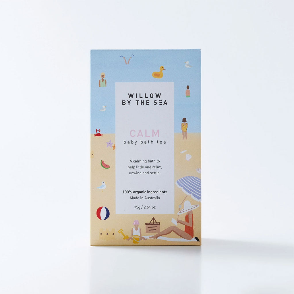 Willow By The Sea Organic Baby Bath Tea - Calm - UrbanBaby shop