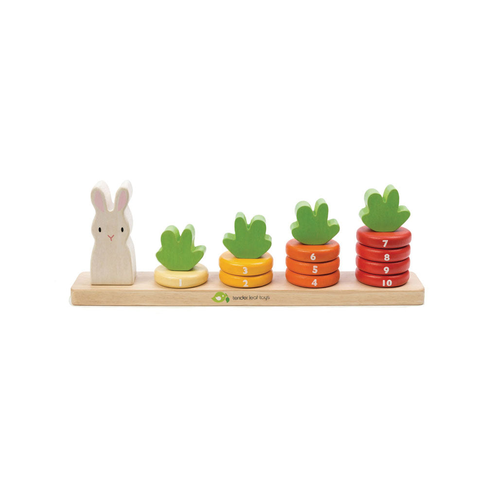 Tender Leaf Counting Carrots - UrbanBaby shop