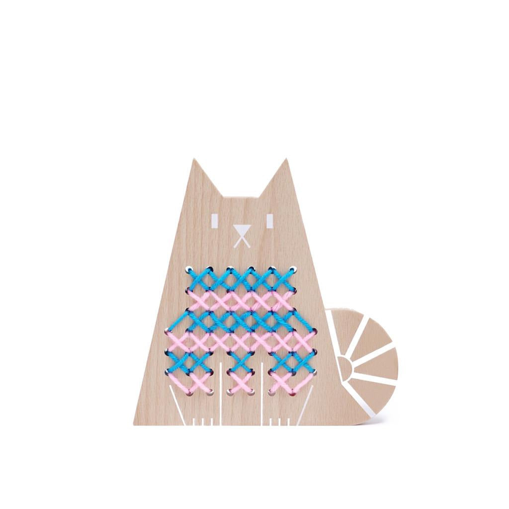Moon Picnic Cross Stitch Friends - Cat - UrbanBaby shop