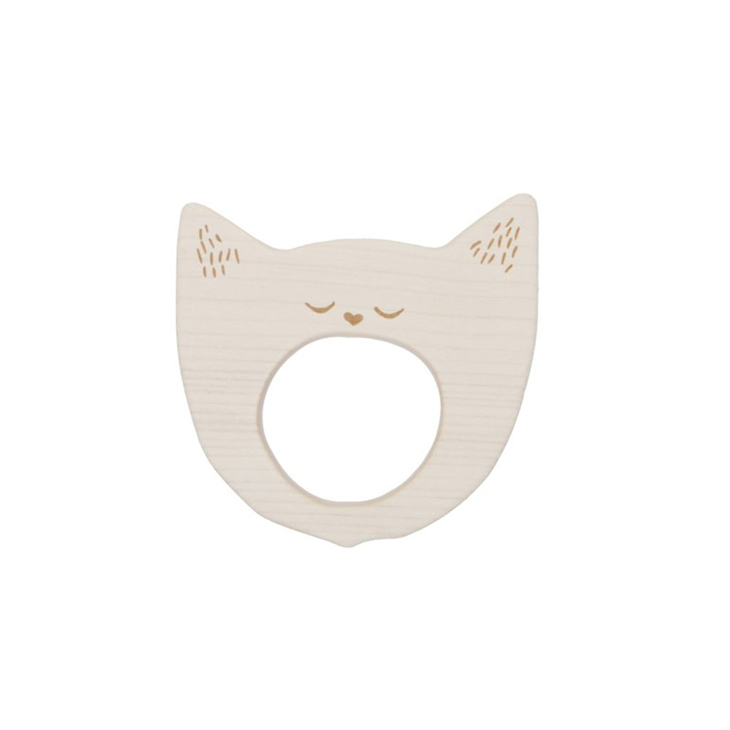 Wooden Story Soother - Yawning Cat - UrbanBaby shop