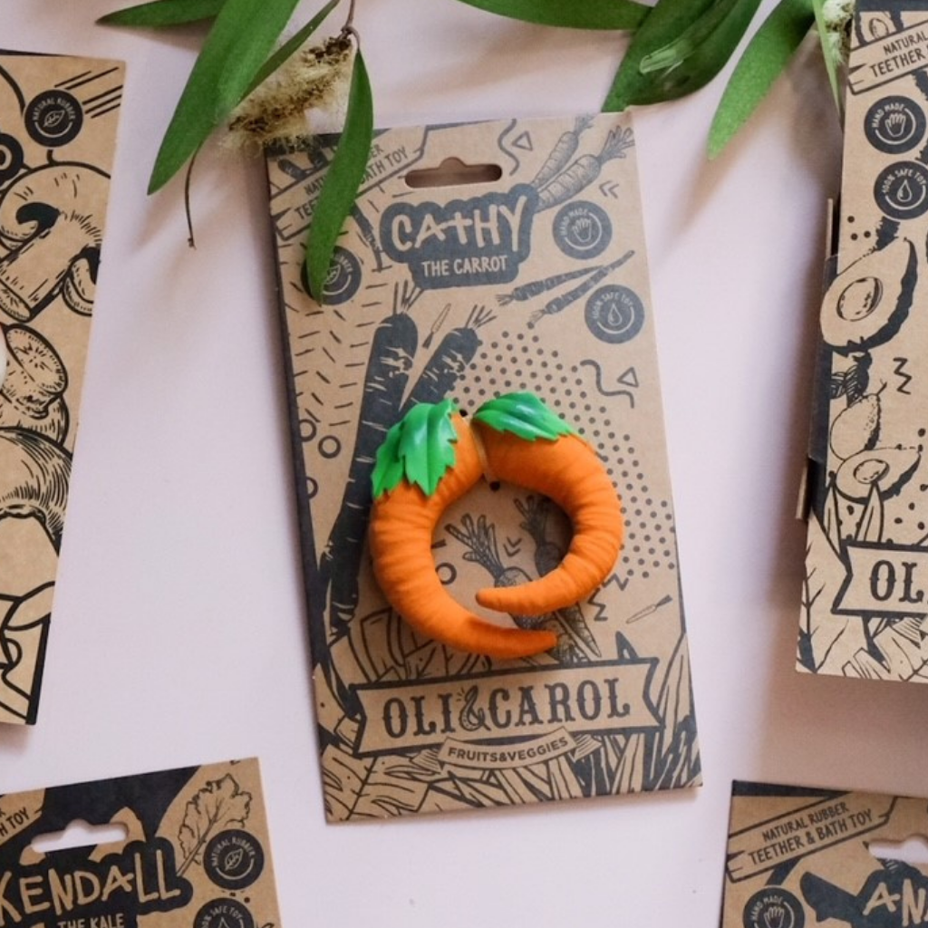 Oli & Carol Cathy the Carrot - UrbanBaby shop