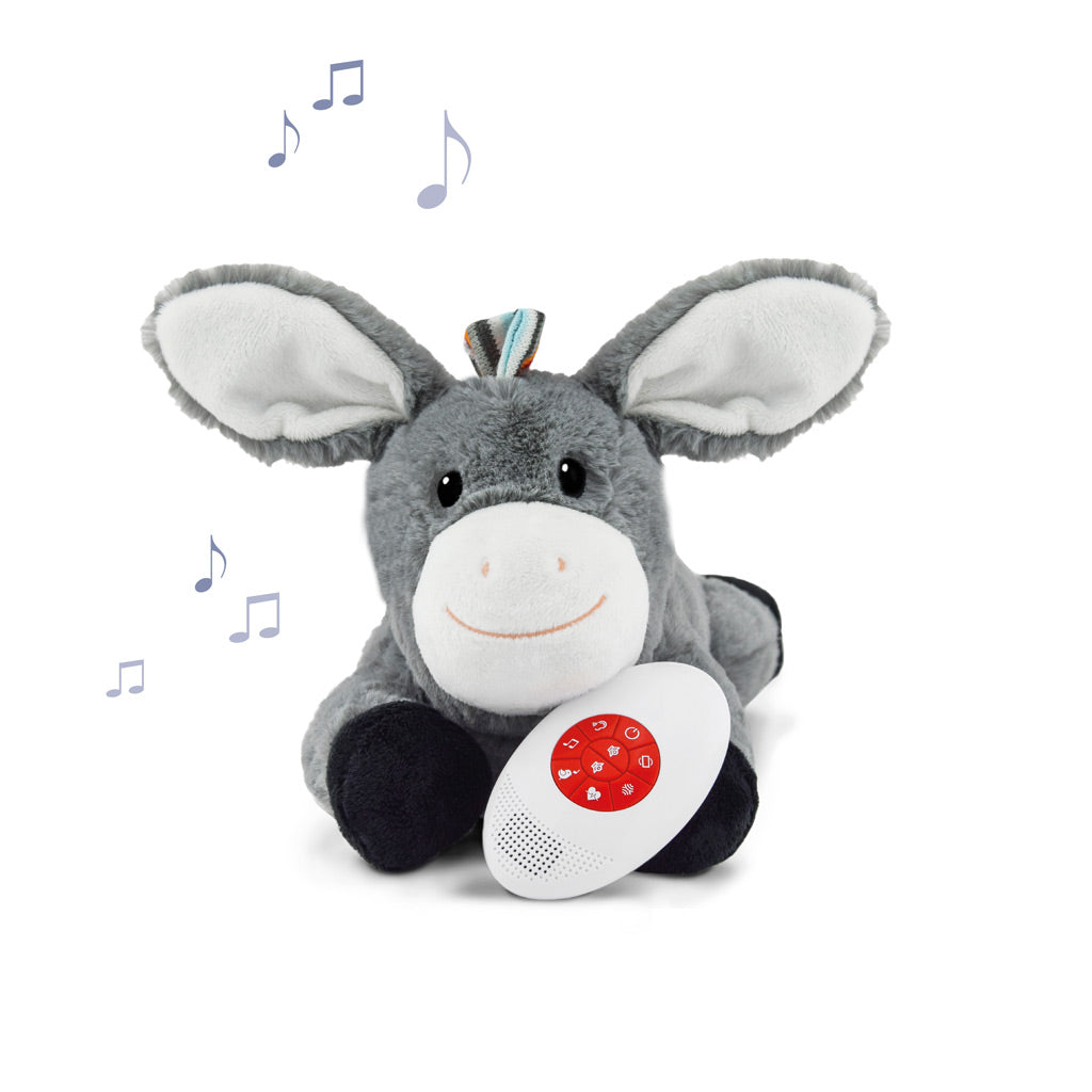 Soft Toy Comforter w Heartbeat Don the Donkey