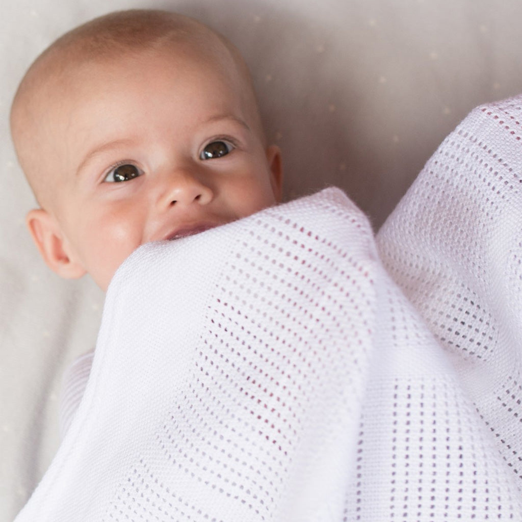 Little Bamboo Cellular Blanket Cot - UrbanBaby shop