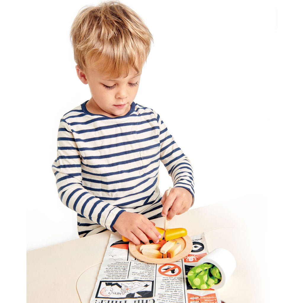 Tender Leaf Fish and Chips Supper - UrbanBaby shop