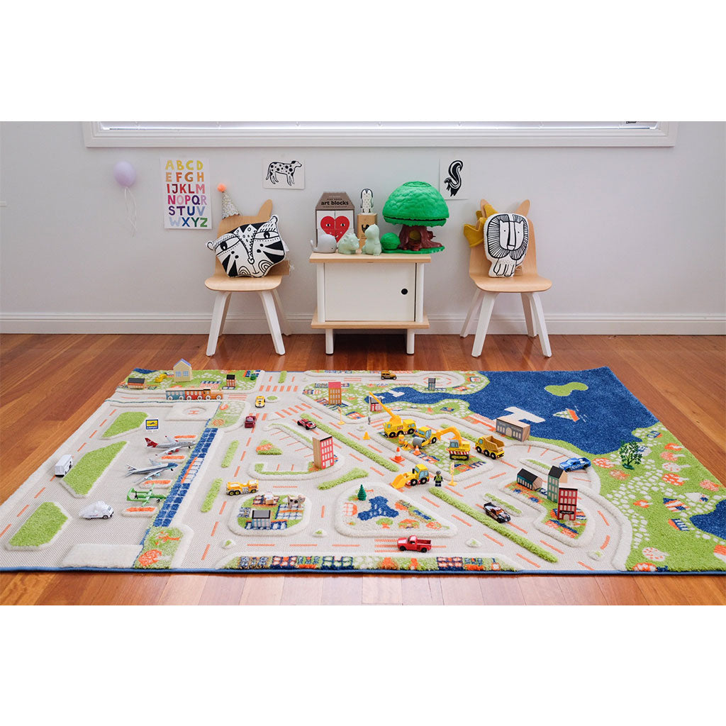 IVI Interactive Play Rug Mini City Large
