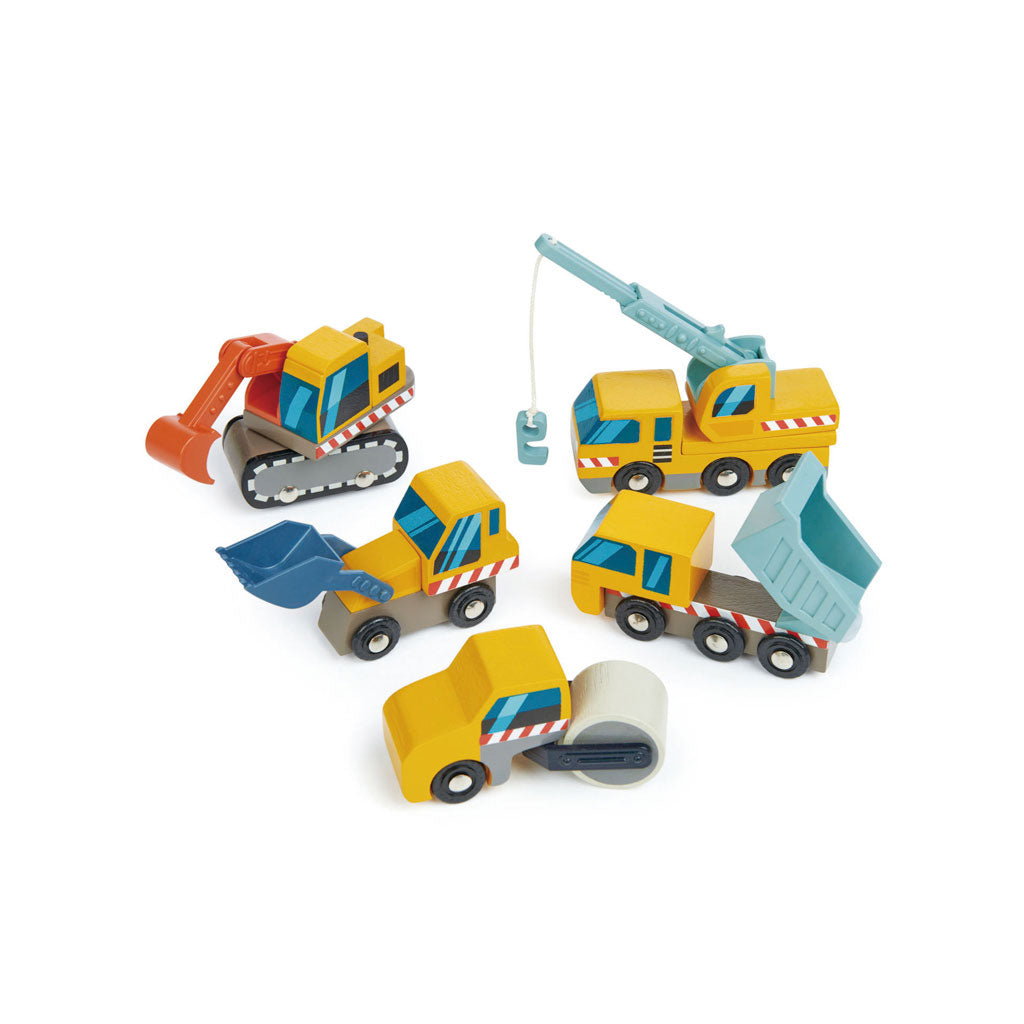 Tender Leaf Construction Car Set - UrbanBaby shop