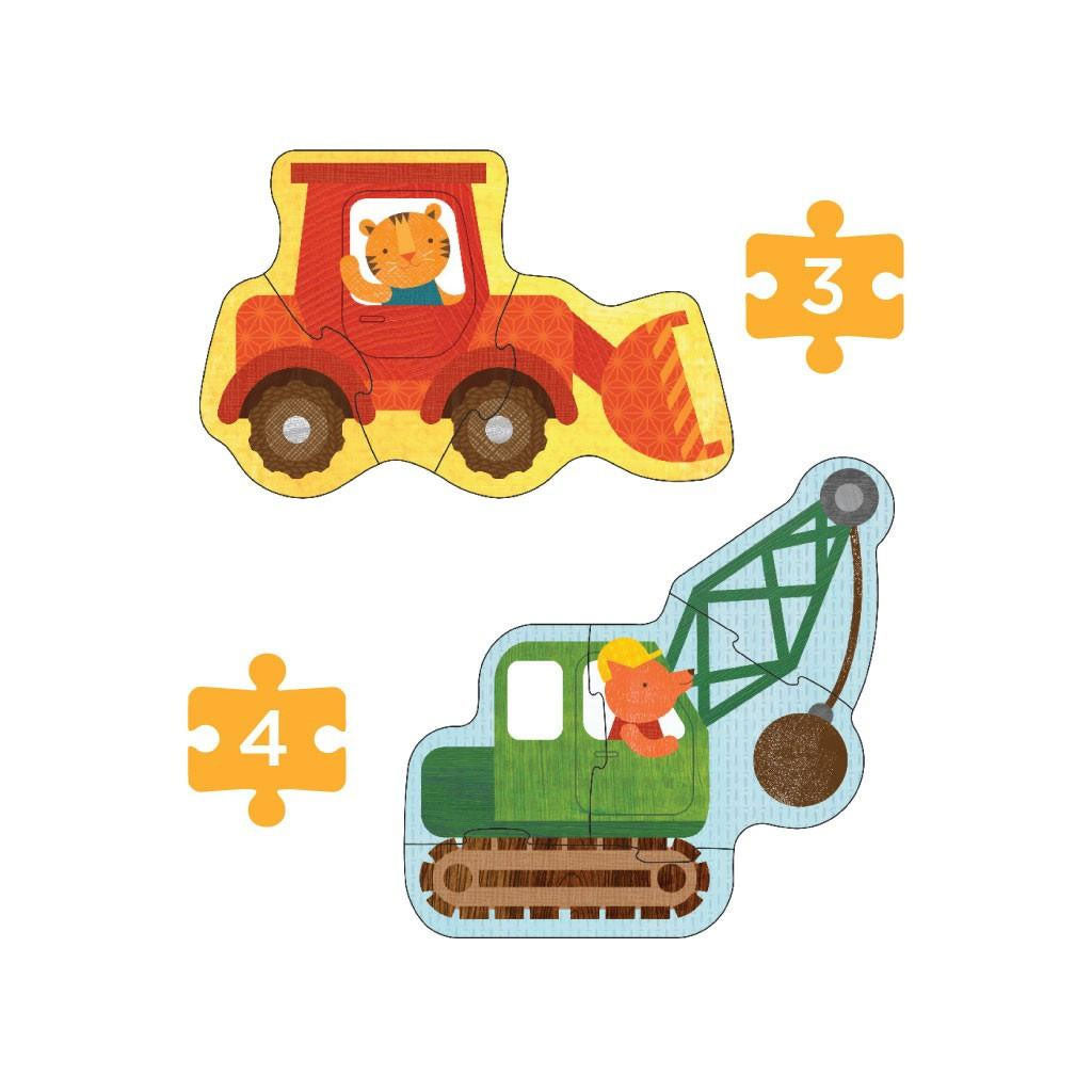 Petit Collage Beginner Puzzle Construction - UrbanBaby shop