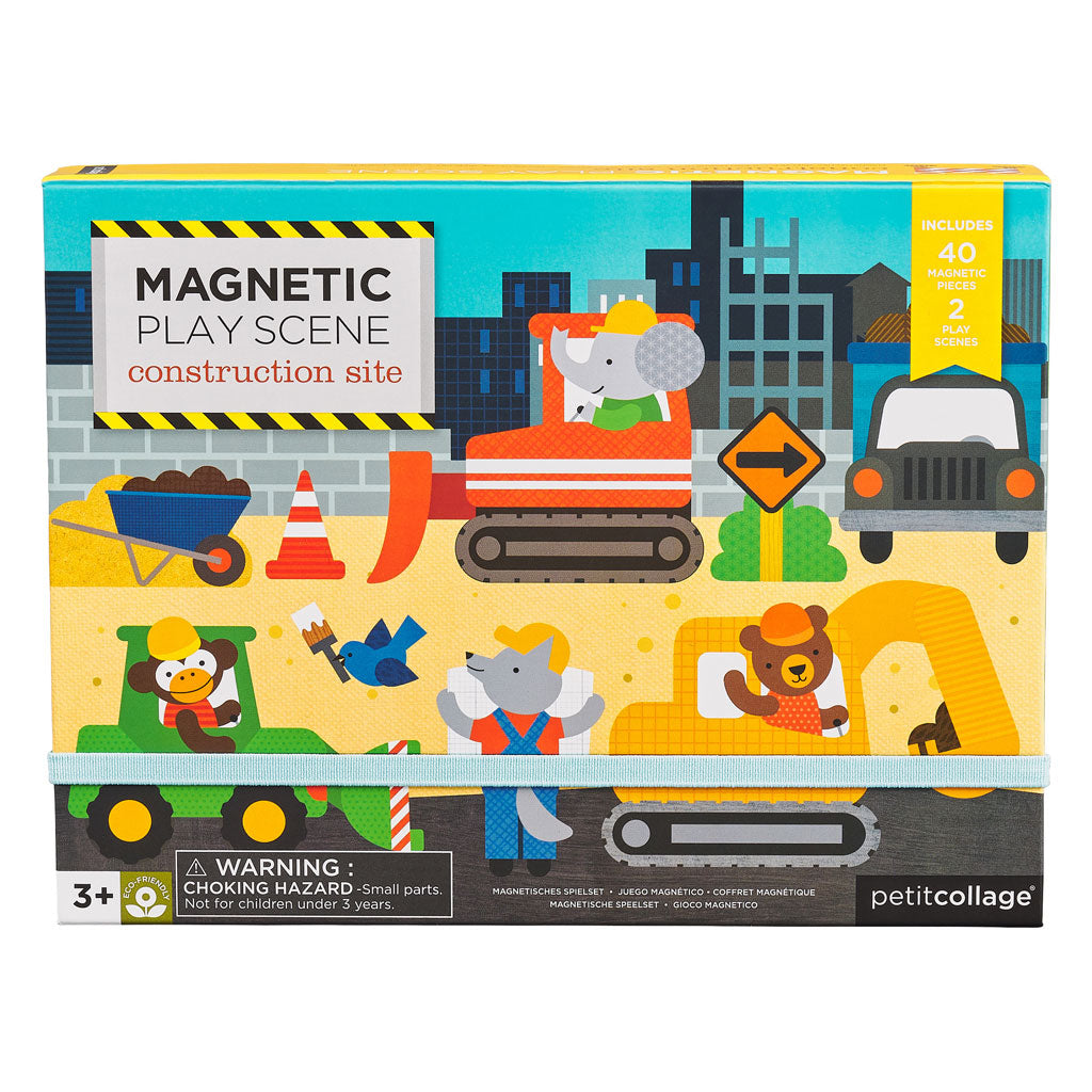 Petit Collage Magnetic Play Construction - UrbanBaby shop